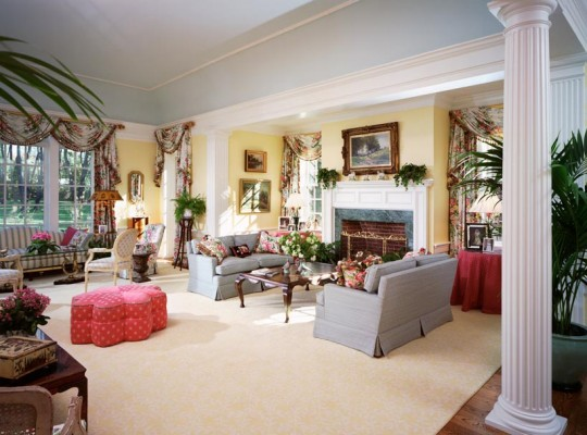 E.B. Mahoney Custom Homes Tunbridge Living Room
